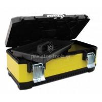 """Stanley® Κίτρινη Μεταλλική-Πλαστική Εργαλειοθήκη 23"""" 1-95-613"""
