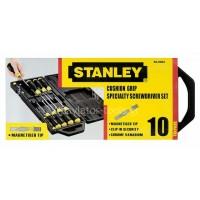 Σετ 10 κατσαβίδια Stanley ίσια & POZIDRIV 2-65-014