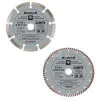 Διαμαντόδισκοι σετ 2τμχ Φ230mm EINHELL