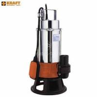 Υποβρύχια αντλία ακαθάρτων υδάτων βαρέως τύπου Kraft 1.0HP CMDm-15 63547