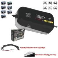 Ηλεκτρονικός φορτιστής μπαταριών 12V EASY 4