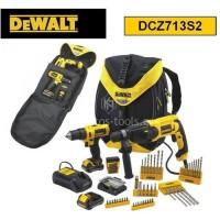 Σετ DEWALT DCZ713S2