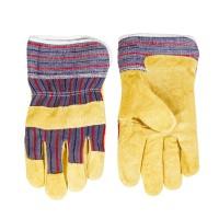 """Γάντια δερματοπάνινα 10,5"""" 831101"""