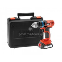 Δραπανοκατσάβιδο μπαταρίας Black&Decker EGBL14K 14,4V Li-on 2 ταχυτήτων