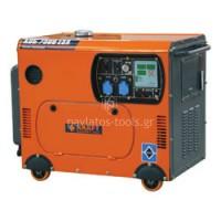 Ηλεκτρογεννήτρια Kraft Πετρελαίου KDG 8500 ESA-T/ATS  τριφασική με μεταγωγικό πίνακα 8000W 63718