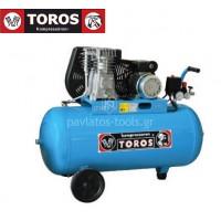 Αεροσυμπιεστής Toros Raider 100 230V/50Hz 100lt 2hp μονοφασικό 602007