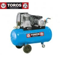 Αεροσυμπιεστής Toros N3-100C-3M 230V/50Hz 100lt 3hp μονοφασικό 602001