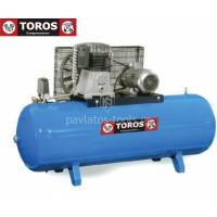 Αεροσυμπιεστής Toros NG5-500F-5.5TK-15BAR 400V/50Hz 500lt 5.5hp τριφασικό υψηλής πίεσης 15 bar 602005