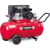 Αεροσυμπιεστής Toros μονοφασικός MK 102-90-2M 90lt 2hp 602051