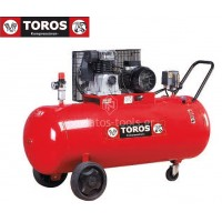 Αεροσυμπιεστής Toros MK103-200-3 400V 200lt 3hp τριφασικό 602058