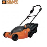 Ηλεκτρική μηχανή γκαζόν Kraft KLM 4216 1600W 49847
