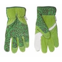 """Γάντια κήπου Topex ύφασμα/δέρμα 8"""" 832153"""