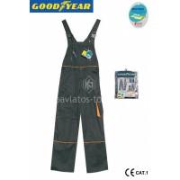 Φόρμα εργασίας Goodyear Μαύρη G1361359 720505-08