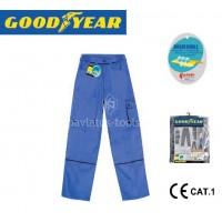 Παντελόνι εργασίας δίχρωμο Goodyear Μπλε G136263 720521-23