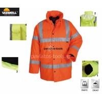 Μπουφάν Vizwell Frankfrurt πορτοκαλί VWJK01 725014-16-17