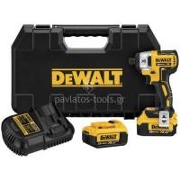 Παλμικό κατσαβίδι Dewalt 18V XR Brushless 4Ah Li-on DCF886M2