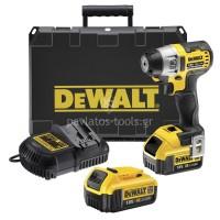 Παλμικό κατσαβίδι Dewalt 18V XR Brushless 4Ah Li-on 3 ταχυτήτων DCF895M2