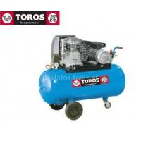 Αεροσυμπιεστής Toros N2.8S-100-3M 230V/50Hz 100lt 3hp μονοφασικό 602008