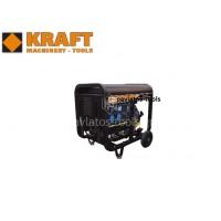 Γεννήτρια-ηλεκτροσυγκόλληση Kraft KDW 6500 E μονοφασική με μίζα&μπαταρία 43795