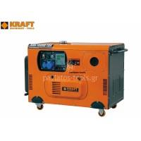 Γεννήτρια πετρελαίου Kraft με μίζα&μπαταρία μονοφασική KDG 15000 ESA  43791