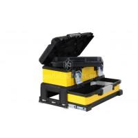 """Κίτρινη μεταλλοπλαστική Εργαλειοθήκη Stanley 20"""" με συρτάρι 1-95-829"""