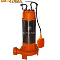 Αντλία Λυμάτων Ανοξείδωτη με κοπτήρα Nakayama ANA 2000IN 009054