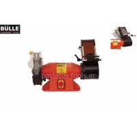 Δίδυμος τροχός Bulle T/Τ 200/100 IND 200x32x32 και ταινία 100x914 1100W τριφασικός 41838