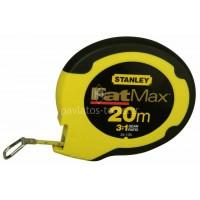Μετροταινία Stanley FATMAX® με ταινία από ανοξείδωτο ατσάλι 20m 0-34-133
