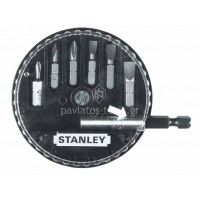 Σετ 7 μύτες Stanley με μαγνητικό αντάπτορα 1-68-735