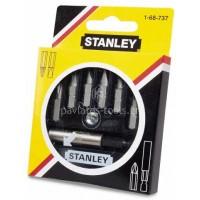 Σετ 7 μύτες Stanley με μαγνητικό αντάπτορα 1-68-737