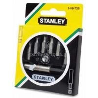 Σετ 7 μύτες Stanley με μαγνητικό αντάπτορα 1-68-739