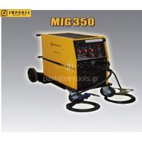 Ηλεκτροκόλληση Inverter σύρματος&ηλεκτροδίου τριφασική 400/50-60Hz (MIG/MMA) MIG 350 65656