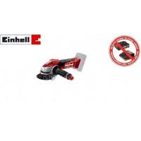 Γωνιακός τροχός επαναφορτιζόμενος Einhell TE-AG 18 Li Solo 4431110