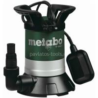 Υποβρύχια αντλία ομβρίων υδάτων Metabo TP 8000 S 350W 0250800000