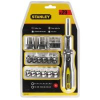 Σετ Κατσαβίδι καστάνιας Stanley 29 τεμαχίων με καρυδάκια 0-54-925