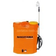 Ψεκαστήρας μπαταρίας Nakayama 16ltr 12V 010395