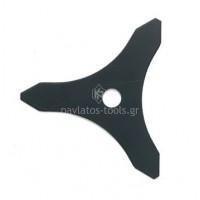Δίσκος θάμνου 3 δοντιών 300mm με τρύπα 25,4mm πάχος 3mm 012689