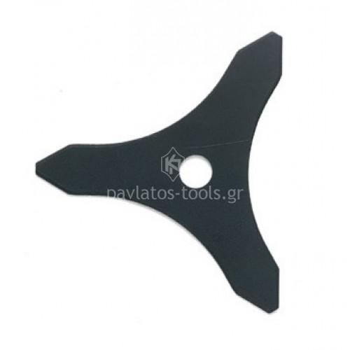 Δίσκος θάμνου 3 δοντιών 255mm με τρύπα 25,4mm πάχος 3mm 012672