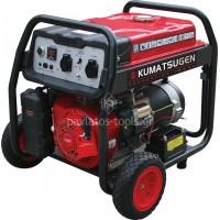 Γεννήτρια βενζίνης με μίζα Kumatsu 8.1kVA GB8500MP 014645
