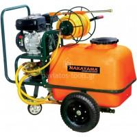 Ψεκαστικό βενζίνης Nakayama 6,5hp με δοχείο 100ltr ανέμη και λάστιχο NS6000 014881