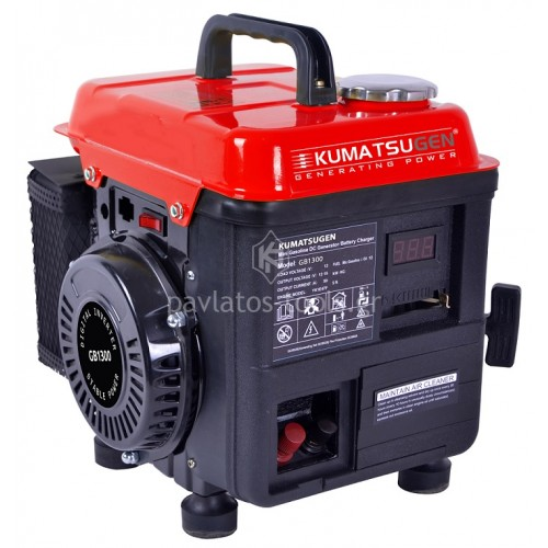 Γεννήτρια βενζίνης Kumatsu για 2 ραβδιστικά GB1300 017134