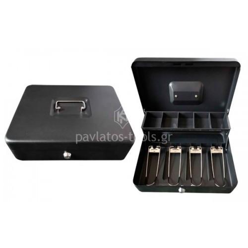 Κουτί ταμείου Bormann με κλειδαριά 30x24x9 cm BPC3000 021919