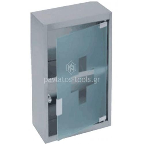 Κουτί φαρμακείου Bormann inox 36,3x30,8x10,2 cm BFB3000 021933