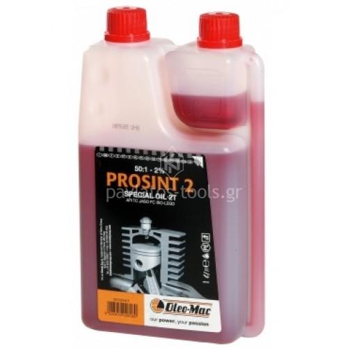 Λάδι Oleo-mac Prosint 1ltt δίχρονου κινητήρα με δοσομετρητή 026080