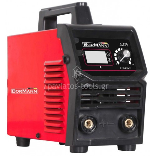 Ηλεκτροκόλληση Inverter Bormann με ψηφιακή ένδειξη ρεύματος 180A BIW1810 030423