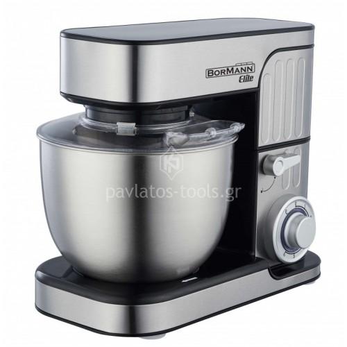 Κουζινομηχανή Bormann titanium ανοξείδωτη κατασκευή 1300 Watt BHA1900 030430