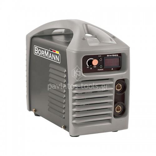 Ηλεκτροκόλληση Inverter Bormann με ψηφιακή οθόνη 160A+ΔΩΡΟ ηλεκτρονική μάσκα αξίας 35€ BIW1585 033189