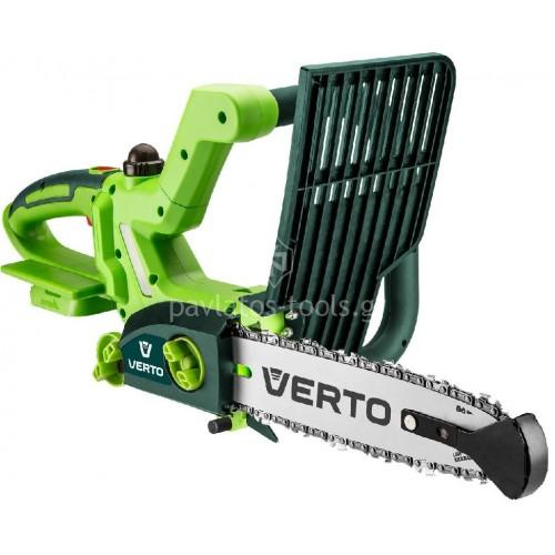 Αλυσοπρίονο Verto 18V Li-on (χωρίς μπαταρία+φορτιστή) 52G585-0 034588