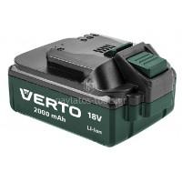 Μπαταρία Verto 18V Li-ion 2.0Ah K75657-0 035073