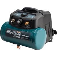 Αεροσυμπιεστής oil-less Bormann 1,5hp 6lt BAT5100 035541